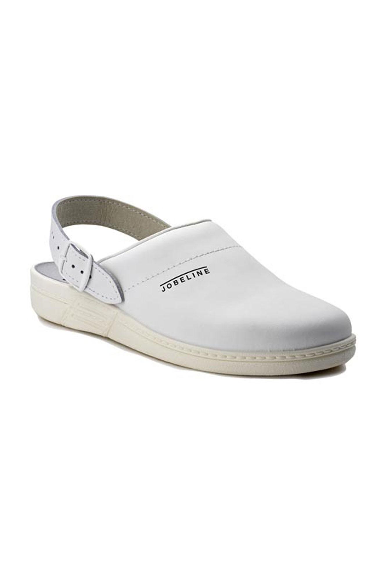 Kuchařské pantofle Haiti - bílá