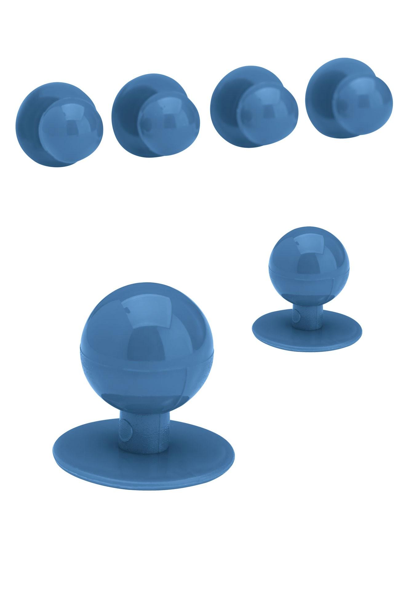 Knoflíky ke kuchařským rondonům - královská modrá