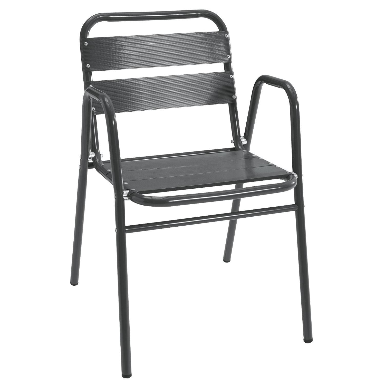 Židle Alu, šedá