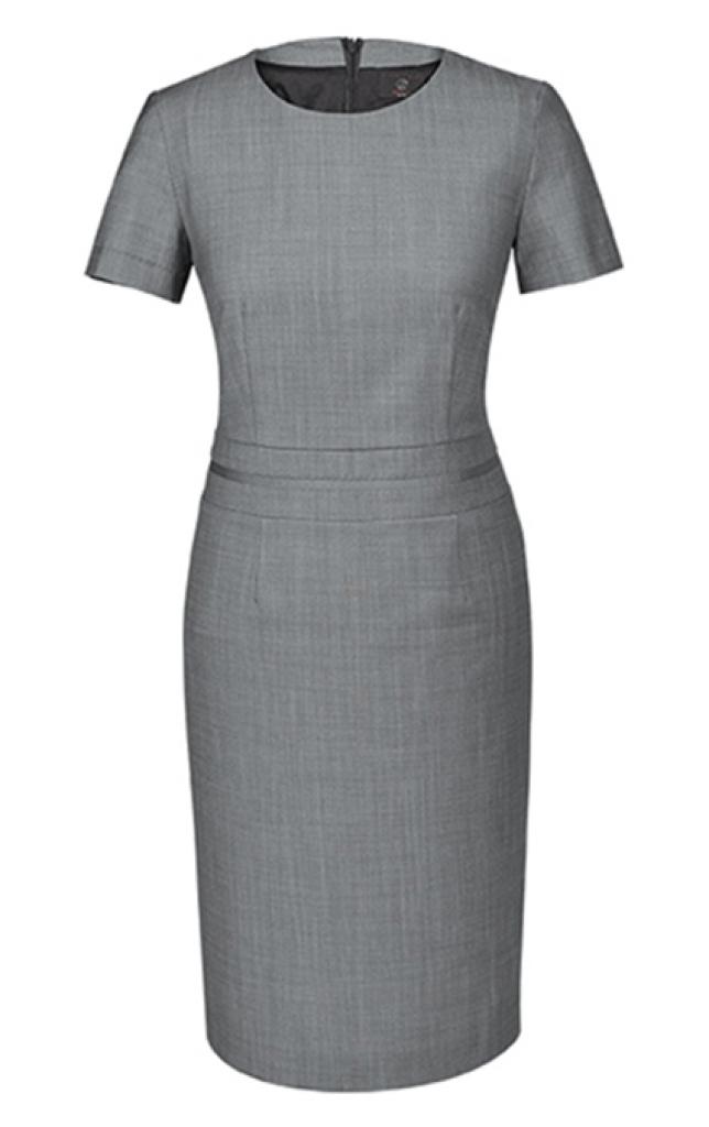 Dámské šaty světle šedé