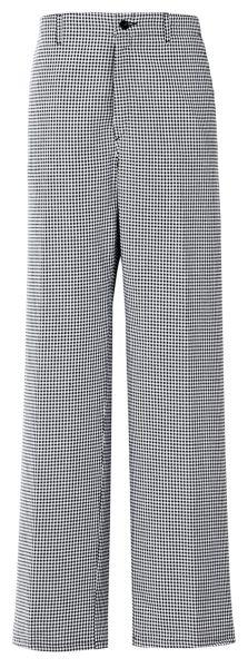Kuchařské kalhoty pepito černo/bílé