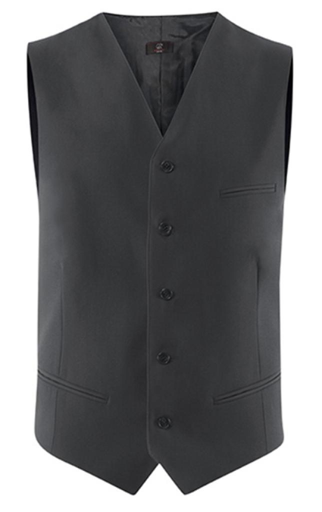 Pánská vesta antracit