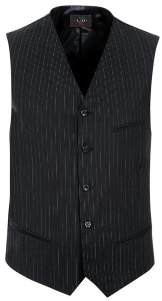 Pánská vesta černá-proužek