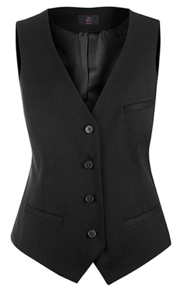Dámská vesta černá
