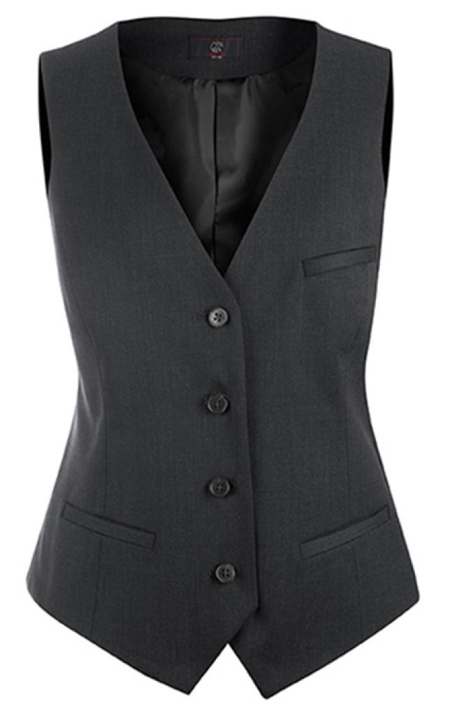 Dámská vesta antracitová