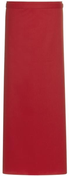 Zástěra červená