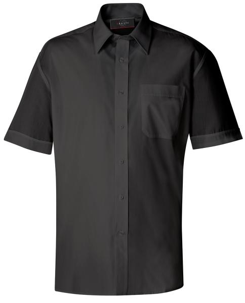 Pánská košile kr. rukáv černá