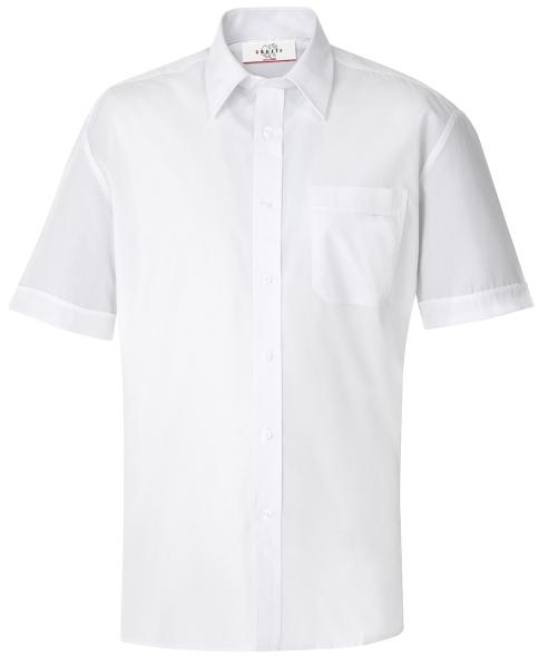 Pánská košile kr. rukáv bílá