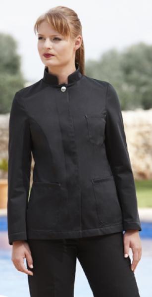 Dámské sako Mao černé