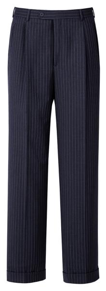 Pánské kalhoty námoř. modrá-proužek