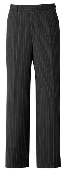 Pánské kalhoty antracit-proužek