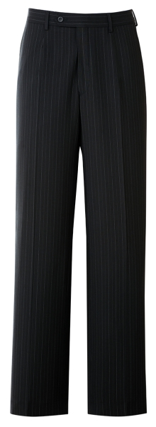 Pánské kalhoty černé-proužek