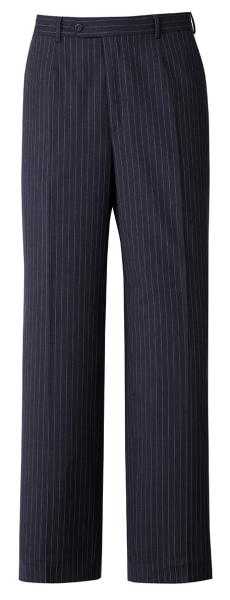 Pánské kalhoty námoř. modré-proužek