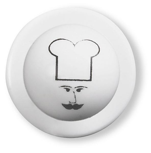 Knoflíky do rondonu-obličej kuchaře