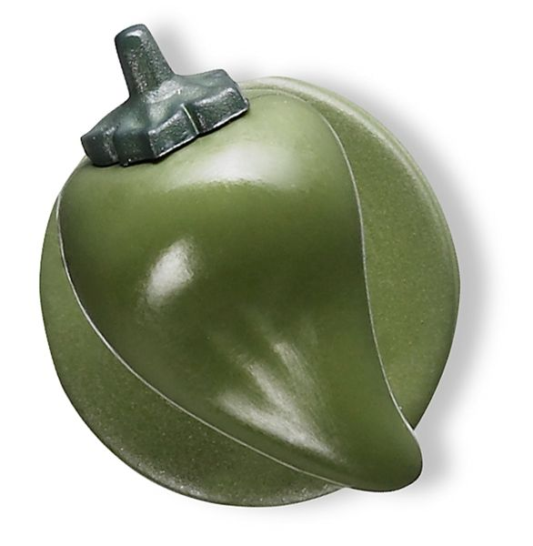 Knoflíky do rondonu-paprika zelená