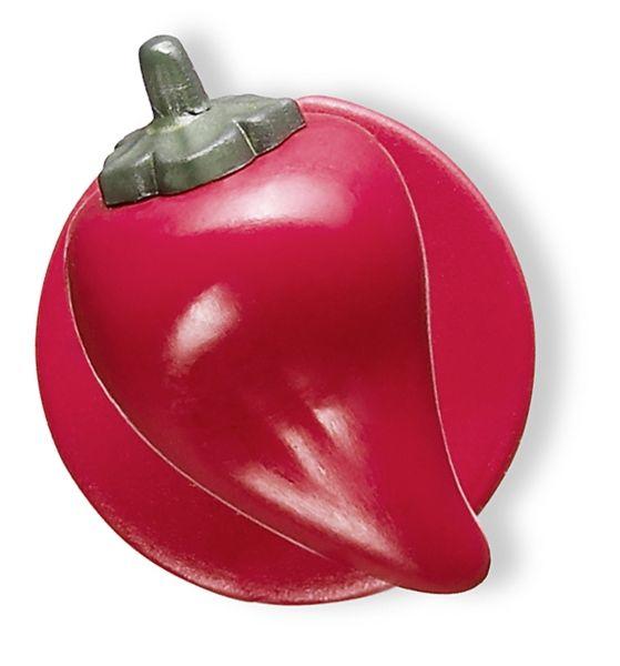 Knoflíky do rondonu-paprika červená