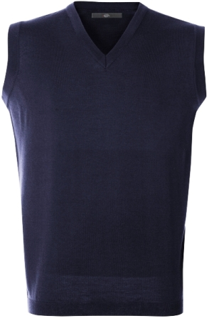 Pánská vesta námoř. modrá