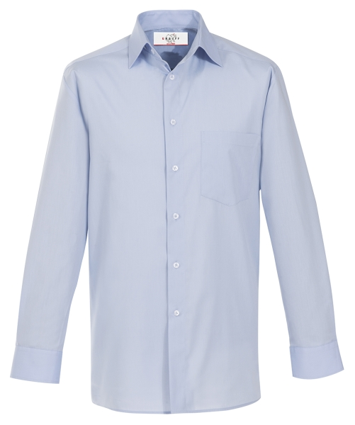 Pánská košile dl. rukáv světle modrá