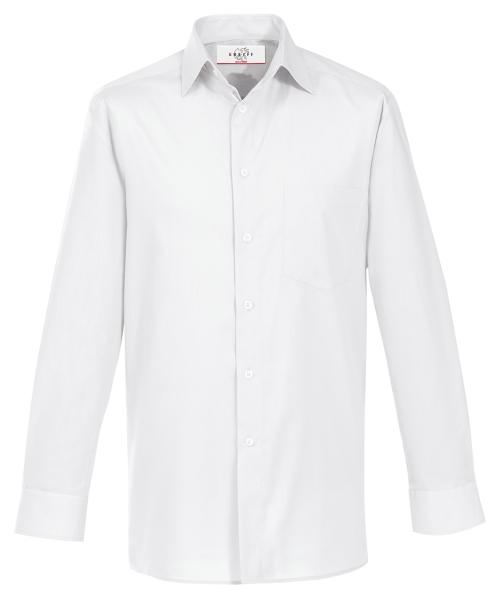 Pánská košile dl. rukáv bílá