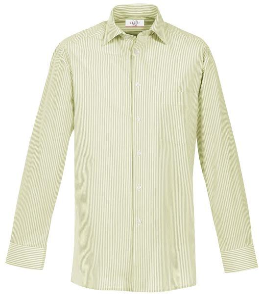 Pánská košile dl. rukáv kiwi-proužek