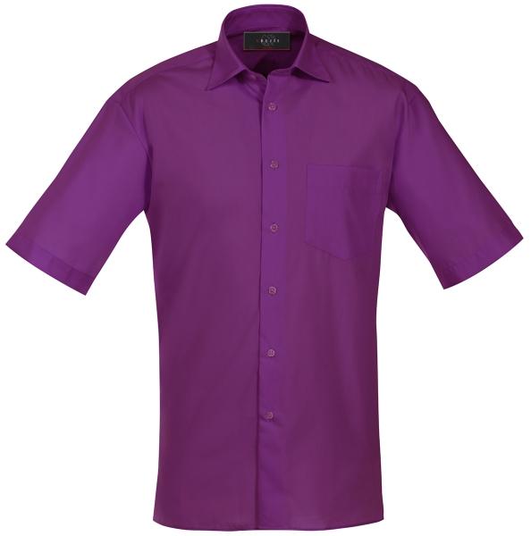 Pánská košile kr. rukáv ostružinová