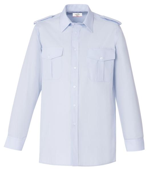 Pánská košile pilotka dl. rukáv sv. modrá