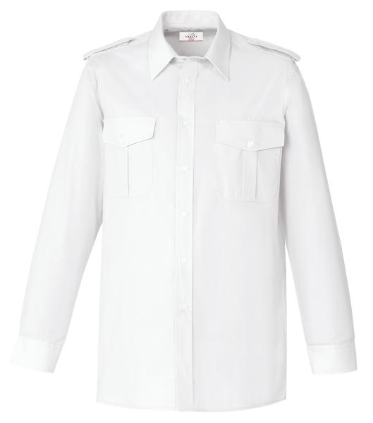Pánská košile pilotka dl. rukáv bílá