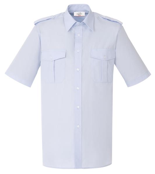 Pánská košile pilotka kr. rukáv sv.modrá