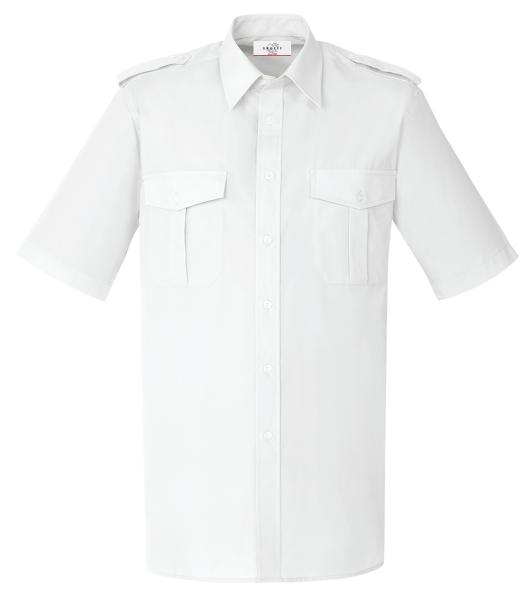 Pánská košile pilotka kr. rukáv bílá