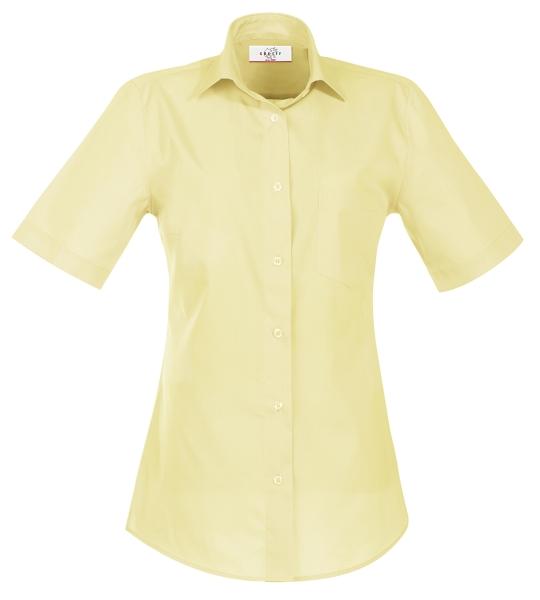 Dámská halenka kr. rukáv žlutá