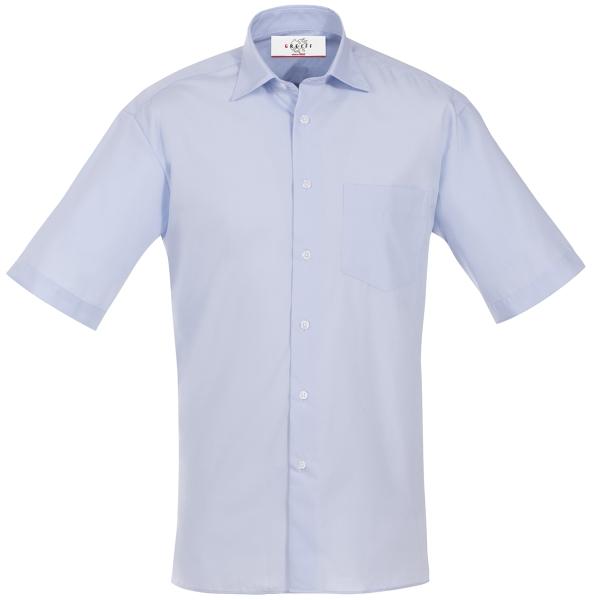 Pánská košile kr. rukáv světle modrá