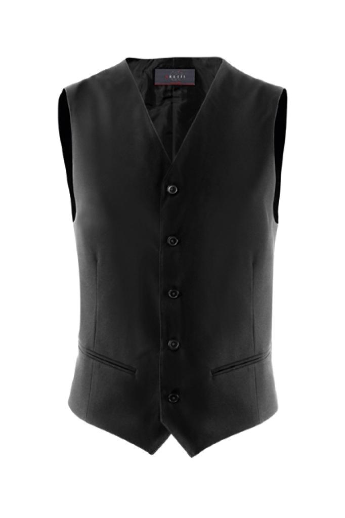 Pánská vesta - černá