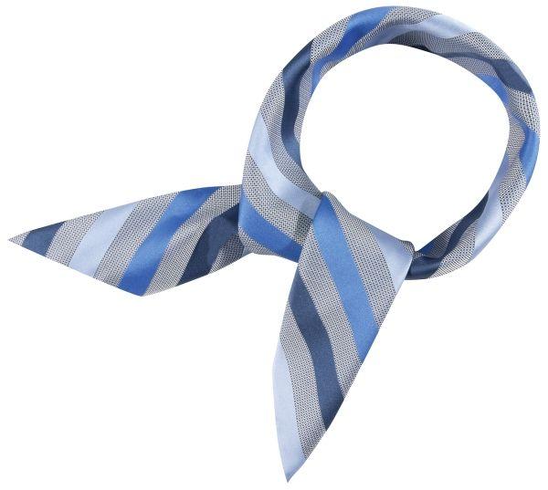 Šátek tmavě modrý-proužek