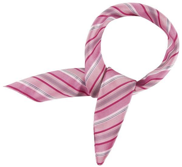 Šátek, proužek - růžová