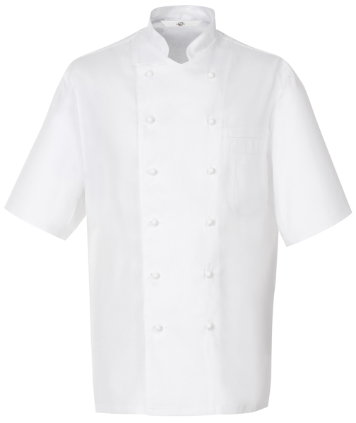 Kuchařský pánský rondon bílý-kr, rukáv