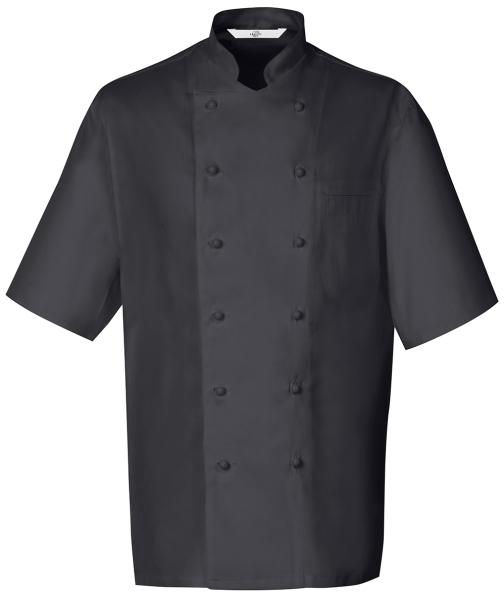Kuchařský rondon černý-kr, rukáv
