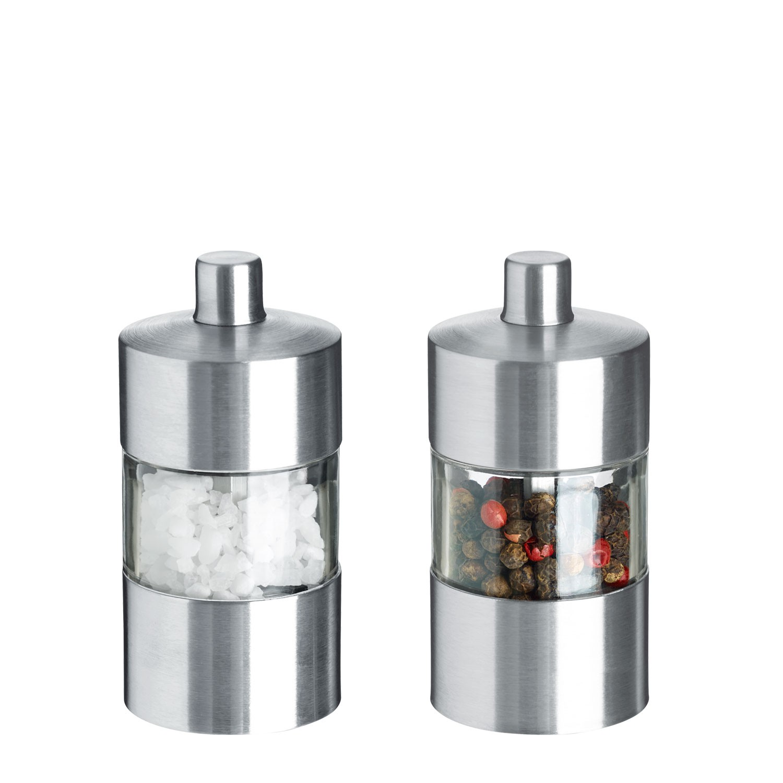 Mini mlýnek na sůl a pepř - sada Moreno
