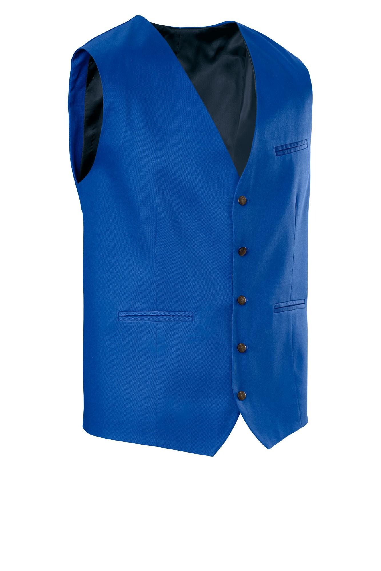 Pánská vesta Bistro - modrá