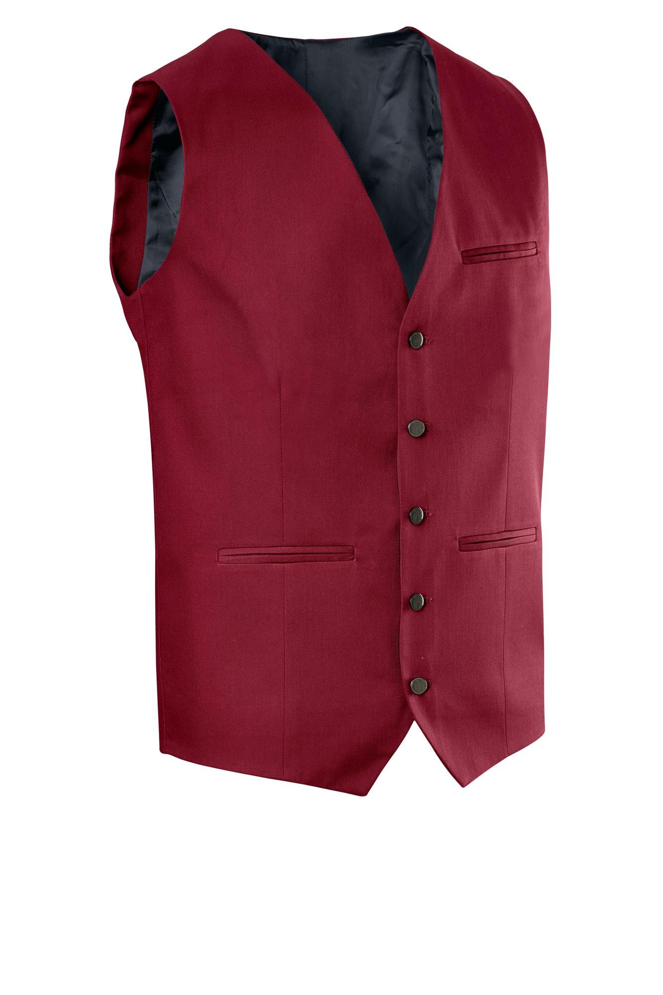 Pánská vesta Bistro - bordo