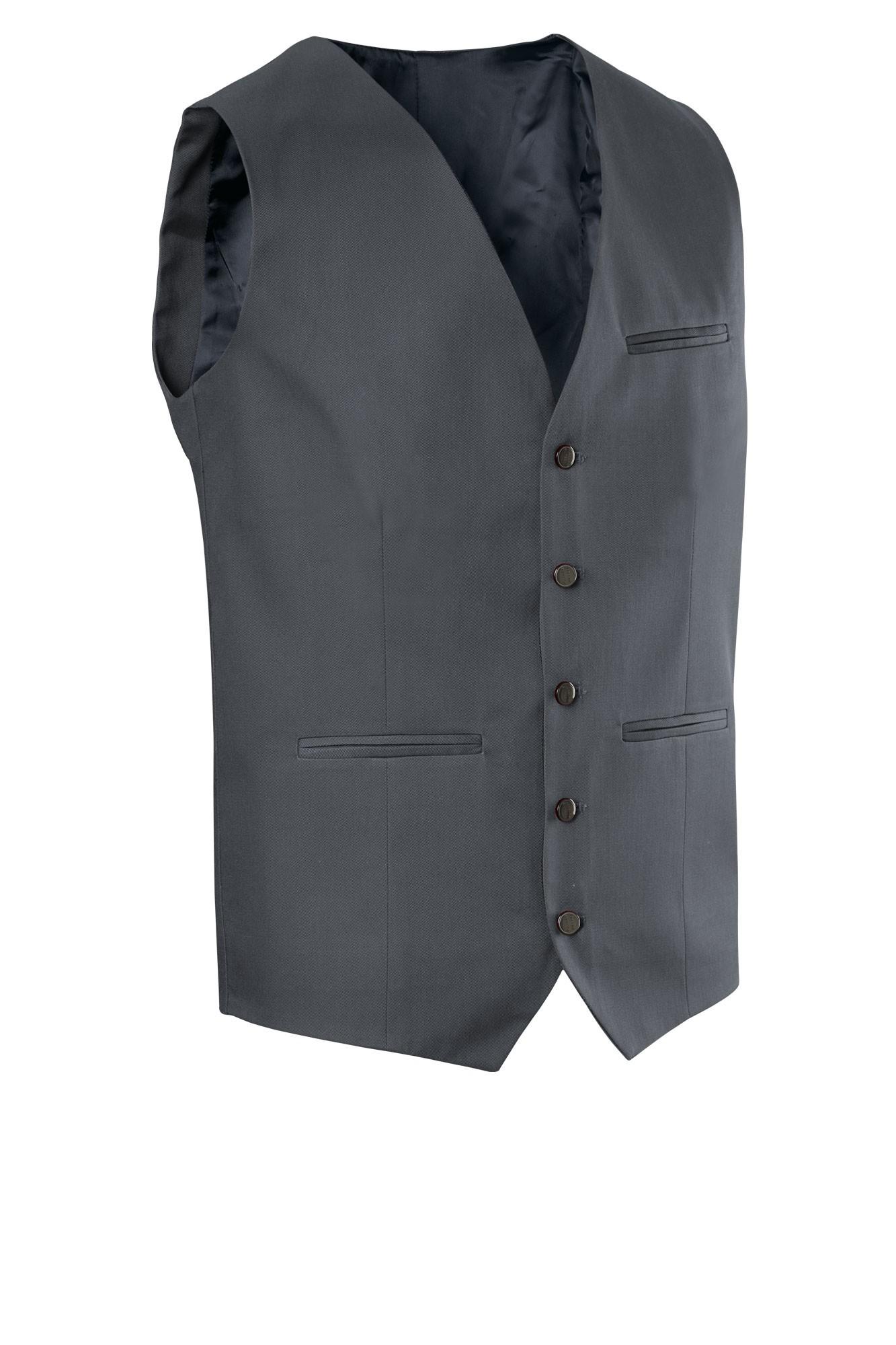 Pánská vesta Bistro - grafit
