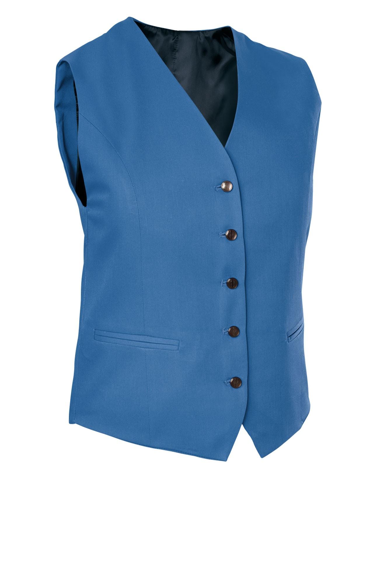 Dámská vesta Bistro - světle modrá