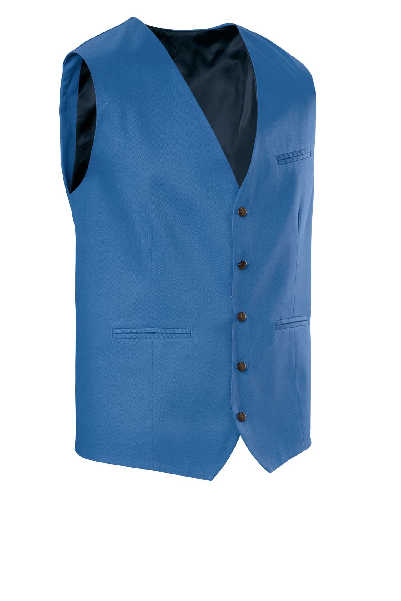 Pánská vesta Bistro - světle modrá