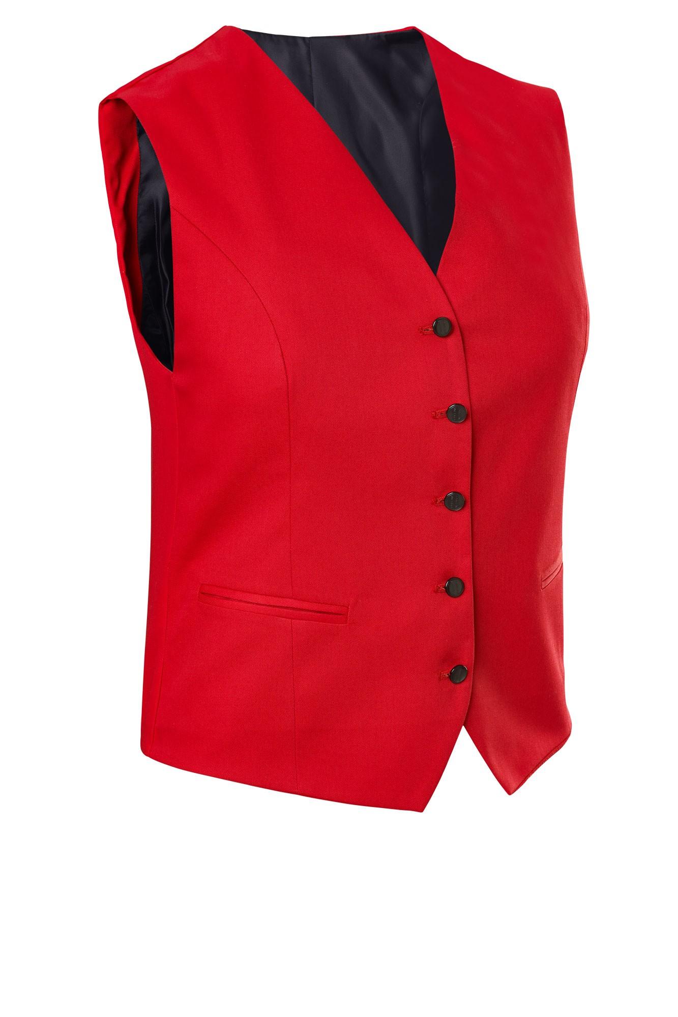 Dámská vesta Bistro - červená
