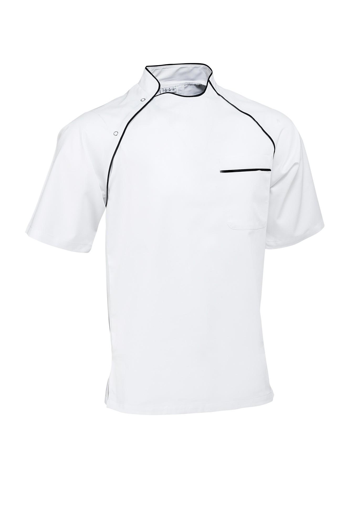 Rondon Pirlo - krátký rukáv - bílá/lemování černé