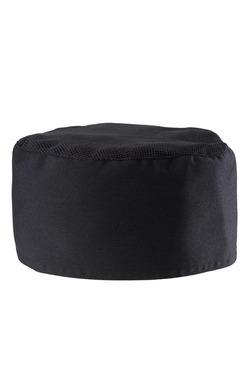 Kuchařská čepice Scull - černá