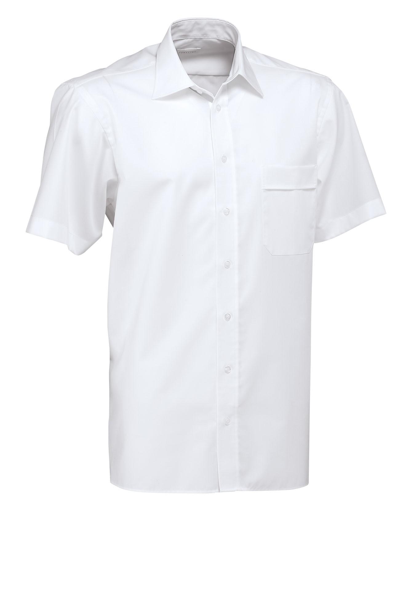 Pánská košile Marc - bílá/krátký rukáv