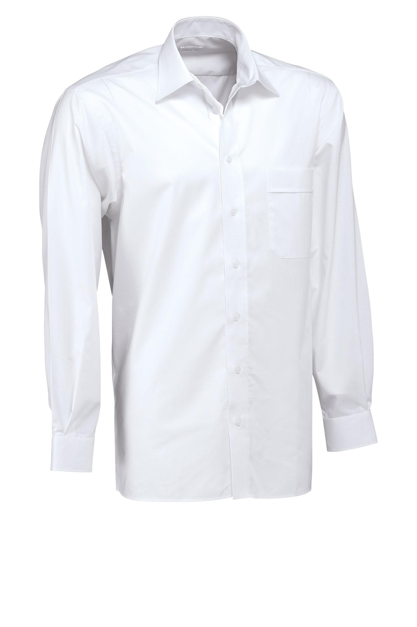 Pánská košile Marc - bílá/dlouhý rukáv