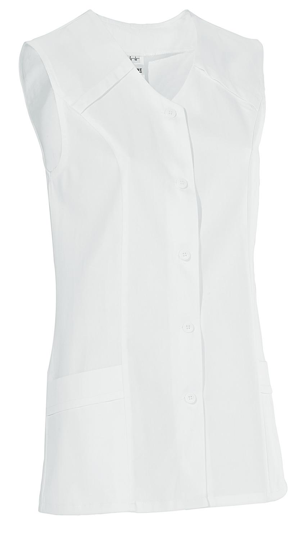 Dámská tunika Erika, bez rukávů - bílá