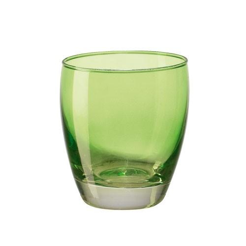 Sklenice Amantea Pop, zelená, 340ml