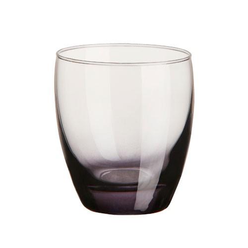 Univerzální sklenice Amantea mix, šedá, 340ml